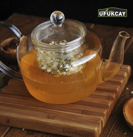 Ufukçay Glass Teapot with strainer